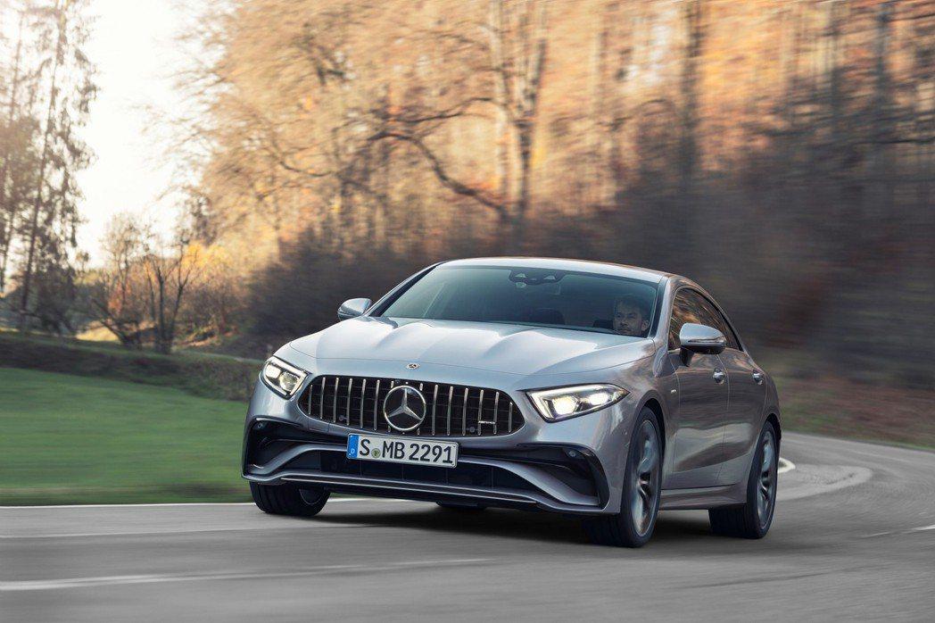 Mercedes-AMG CLS 53 4MATIC +。 圖/Mercedes...