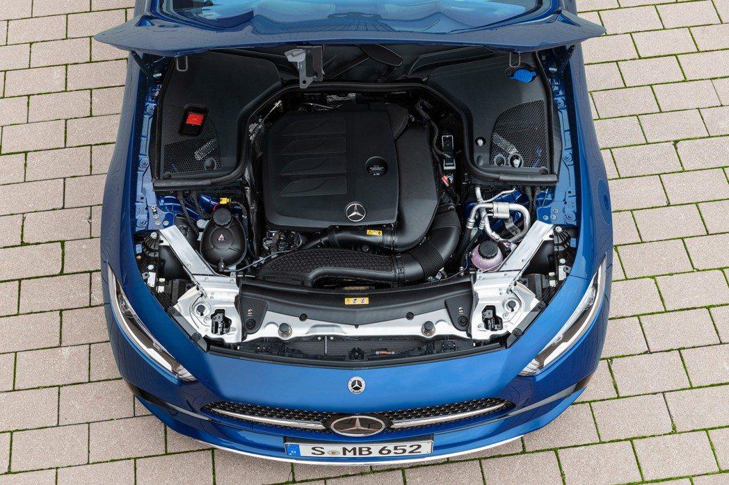 全新CLS 300 d是柴油動力中唯一有搭載48V的車型。 圖/Mercedes...