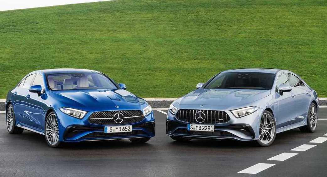 Mercedes-Benz CLS。 圖/Mercedes提供