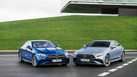 更加個性、運動化!經典四門轎跑Mercedes-Benz CLS小改款正式發表