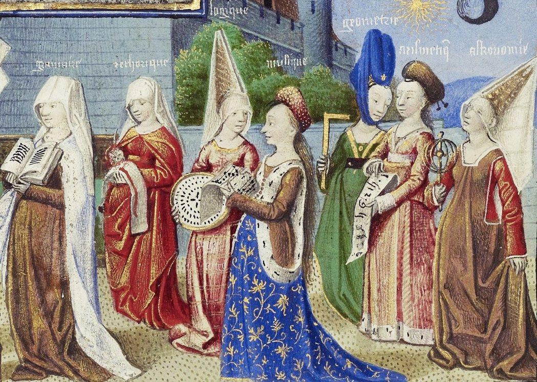中世紀婦女醫學文集《托洛都拉》(Trotula),列出各種改善頭髮的美化方法。轉...