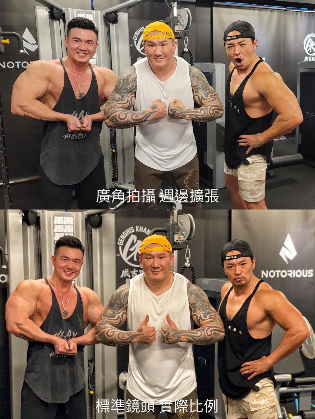 李沛旭與館長、夢多同框。圖/擷自李沛旭臉書