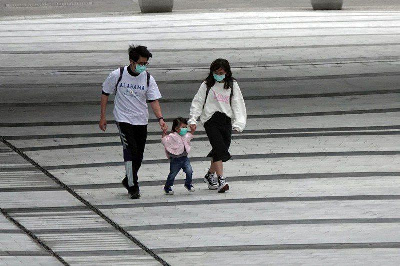 台灣少子化問題日益嚴重。示意圖。 中央社