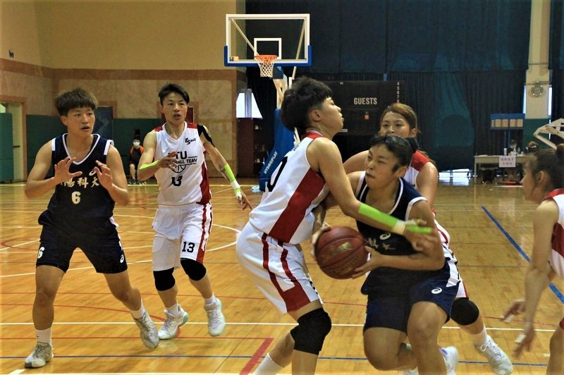 朝陽女籃苦練球技,贏得全國冠軍,專業受肯定。 朝陽科技大學/提供