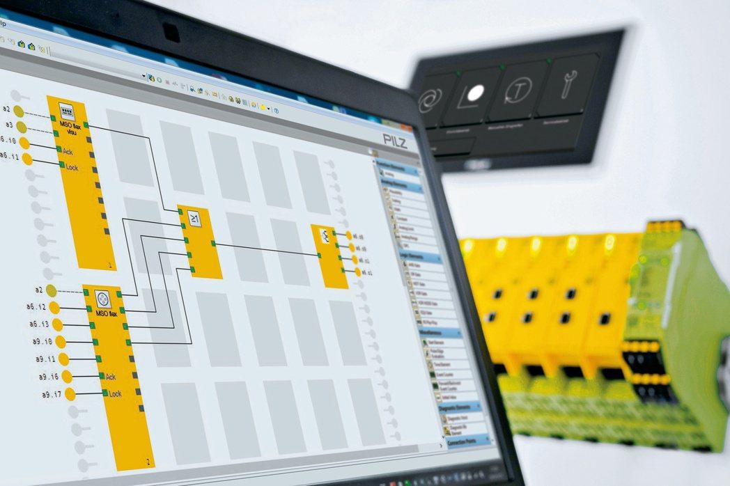 Pilz小型安全控制器PNOZmulti 2搭配新版軟體讓使效率全面提升。 臺灣...