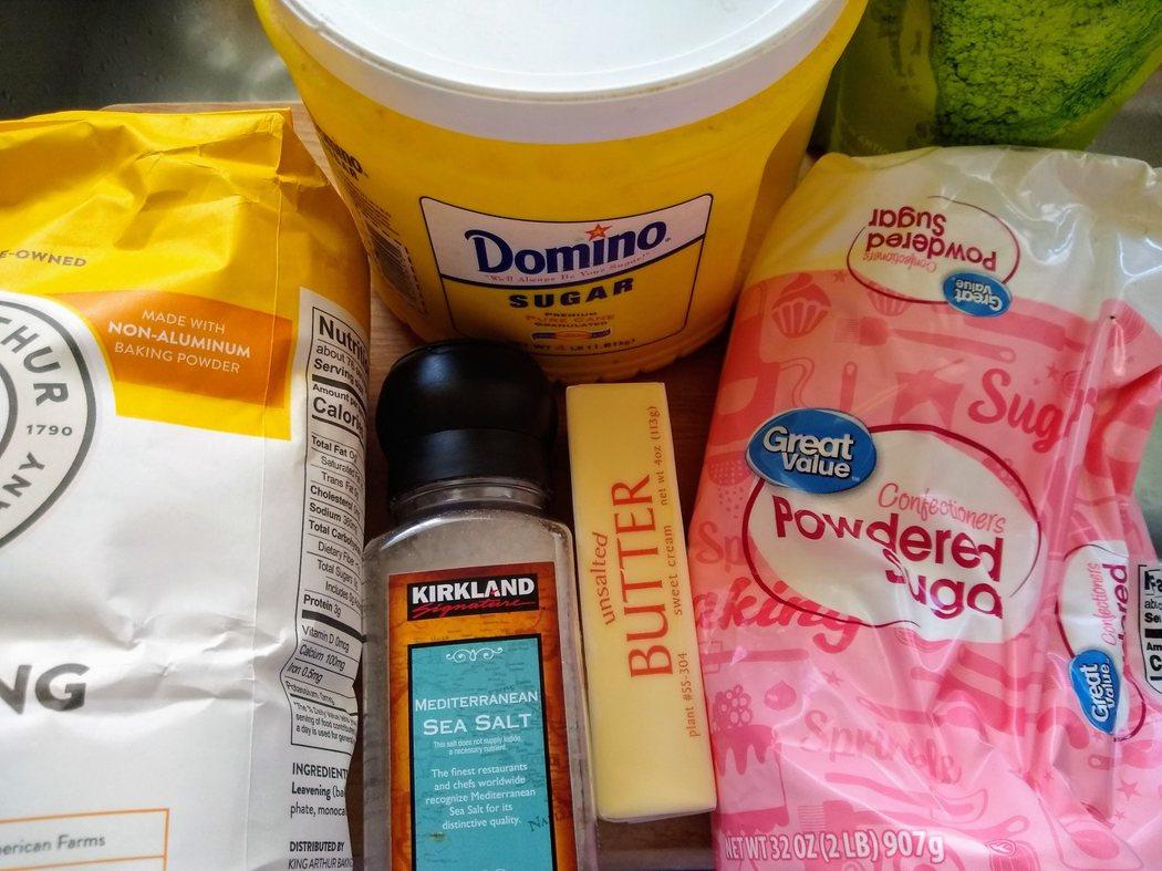 圖文:美國番媽/食譜/法式經典甜點/抹茶鑽石餅乾