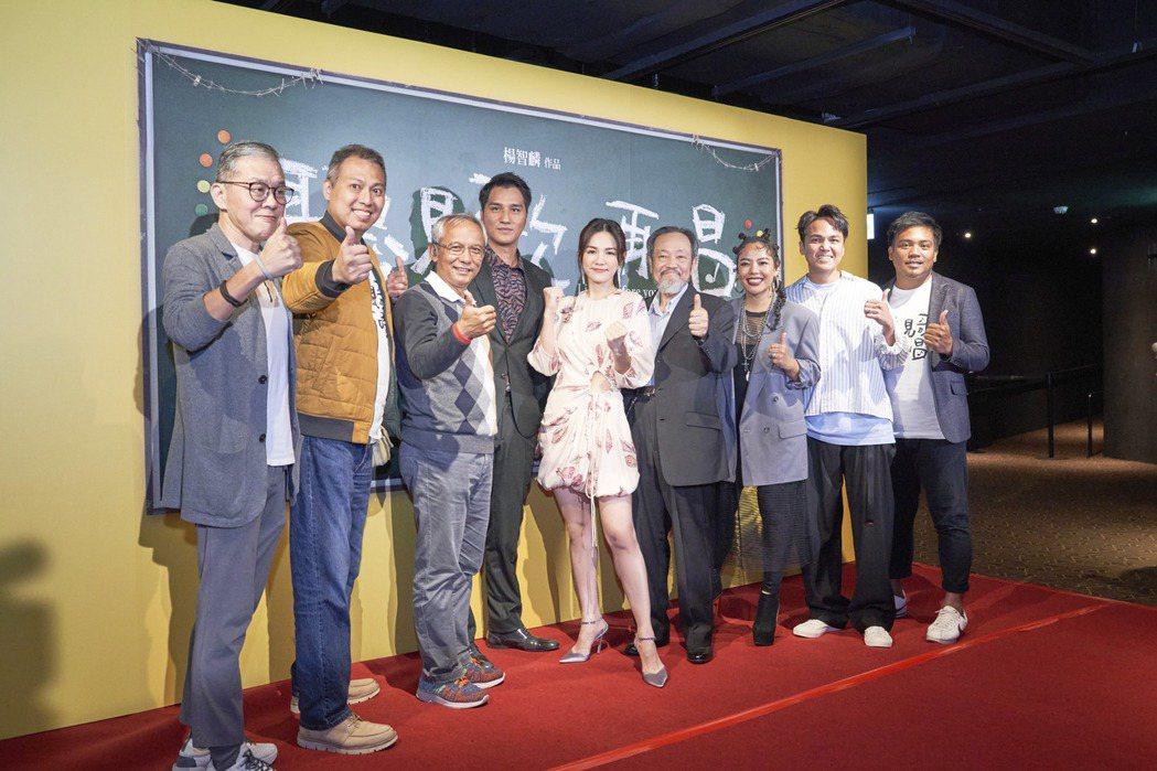 「聽見歌再唱」昨晚舉辦首映會。圖/華納兄弟提供