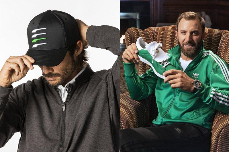 因應美國名人賽,PUMA和adidas都推出了限定系列服飾與鞋款。圖/PUMA、adidas提供