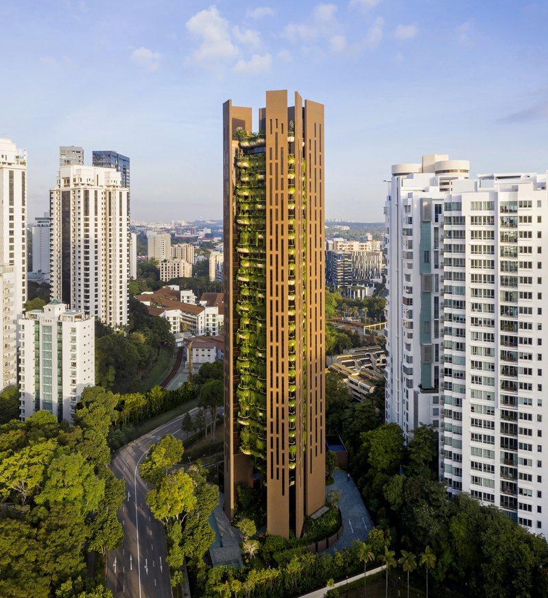 星媒報導,蔡衍明家族買下新加坡豪宅建案EDEN。(取自網路)
