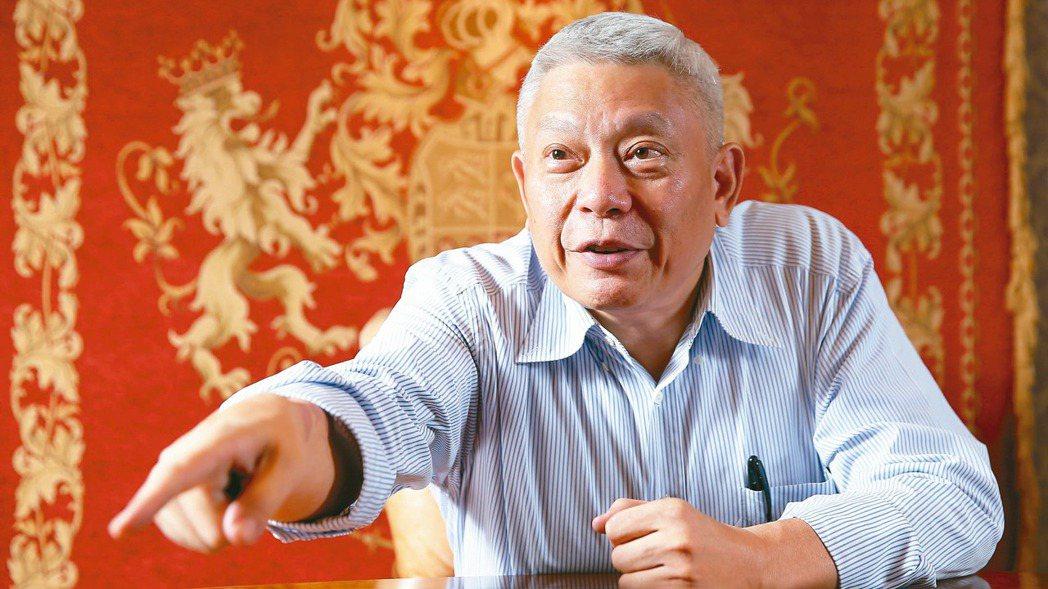 旺中集團董事長蔡衍明。(本報系資料照片)