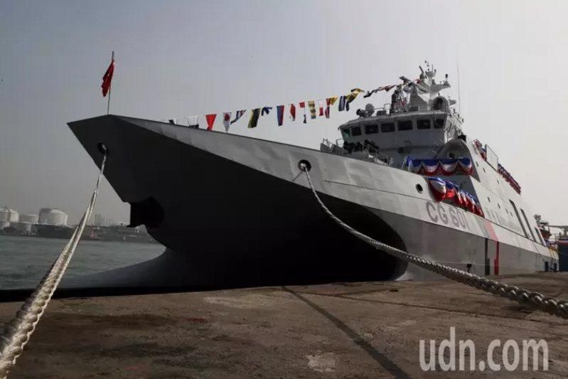 海巡署安平艦。圖/本報資料照