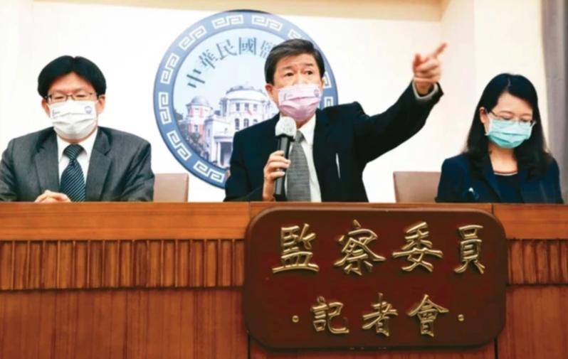 翁茂鍾律師吿監院要求國賠,監院人士分析,有反撲勢力前哨戰意味。圖/本報資料照