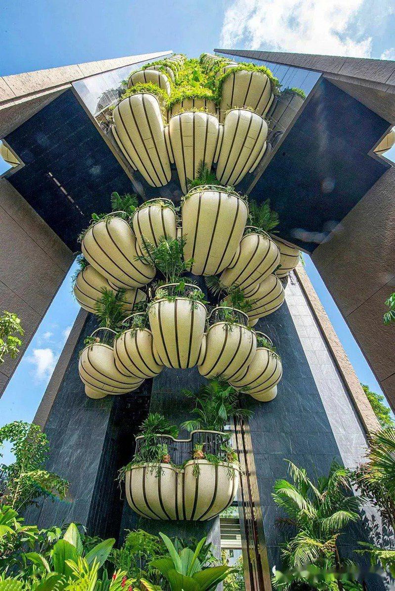 新加坡豪宅建案EDEN。(取自網路)