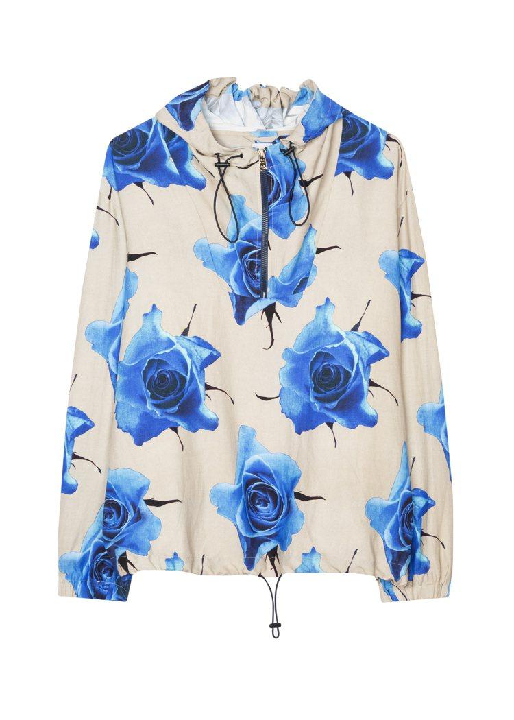 Paul Smith春夏系列玫瑰印花衝鋒衣20,500元。圖/藍鐘提供
