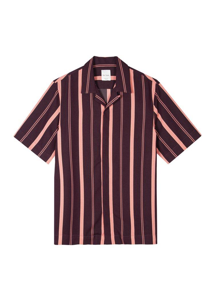 Paul Smith春夏系列條紋襯衫13,800元。圖/藍鐘提供