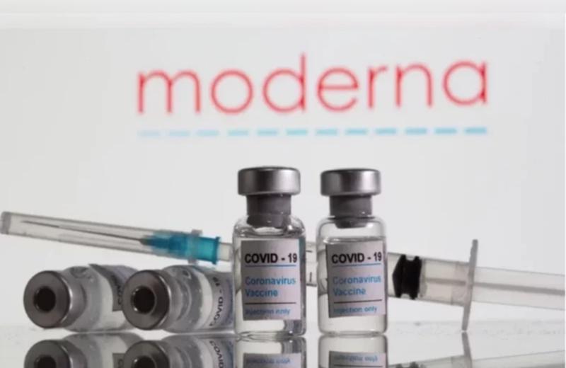 我國食藥署已就莫德納疫苗緊急授權使用進行審查,但遲未通過。圖為莫德納疫苗示意圖。路透