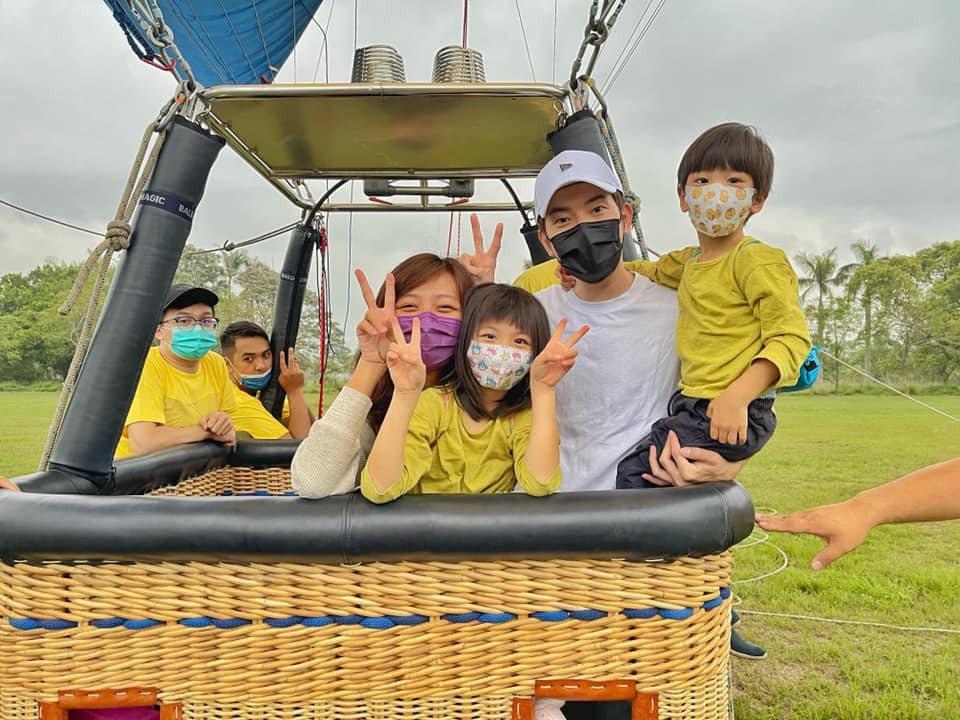宥勝喜歡帶著一家大小去冒險。圖/摘自臉書