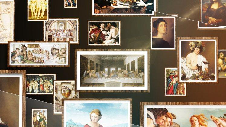 「會動的文藝復興」沉浸式藝術展,一次集結史上最齊全文藝復興300年精華。圖/翡冷...