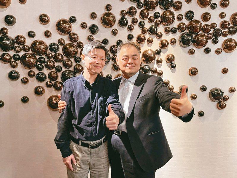 全新董事長陳建良(右)與總經理黃朝興。 (本報系資料庫)