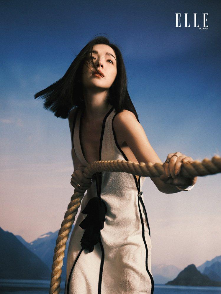 許瑋甯曾經歷過一段青春叛逆期。圖/ELLE雜誌提供