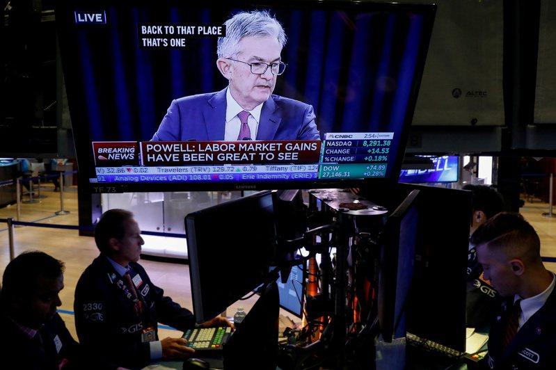 隨著美國經濟復甦加快,市場價格反映投資人預期聯準會(Fed)最快明年就會提高利率。(路透)
