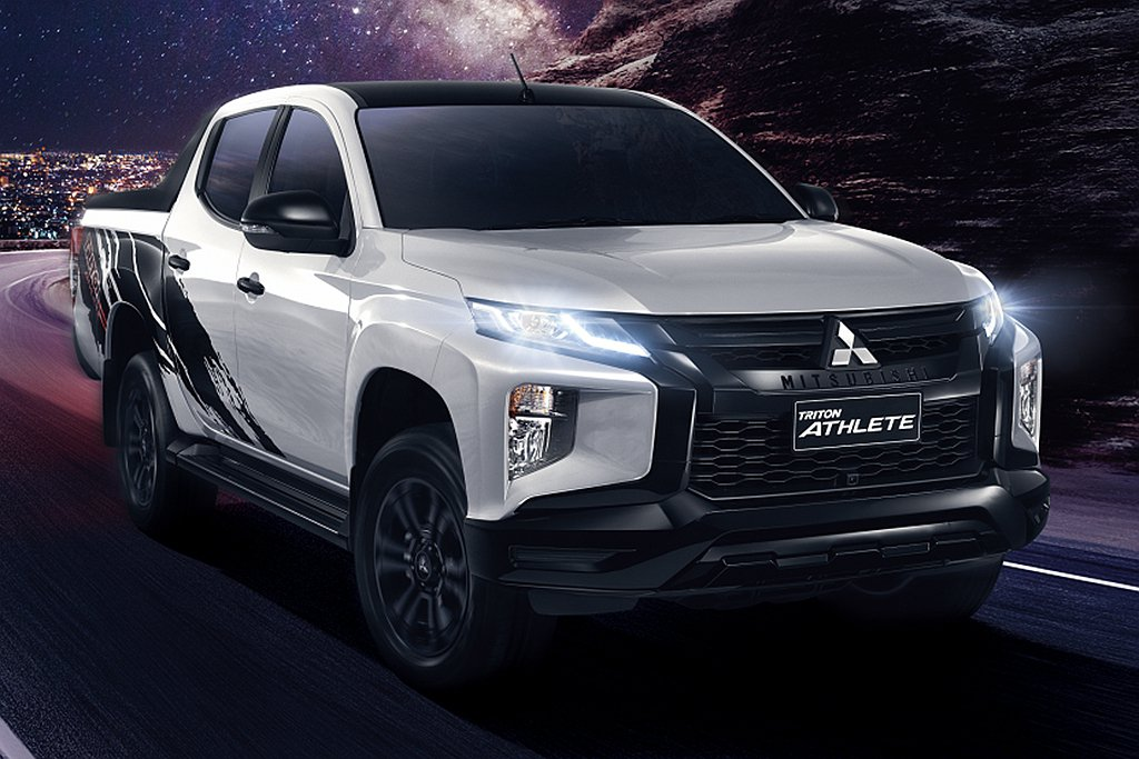 三菱汽車泰國分公司負責生產的新車包括皮卡Triton、硬派休旅Pajero Sp...