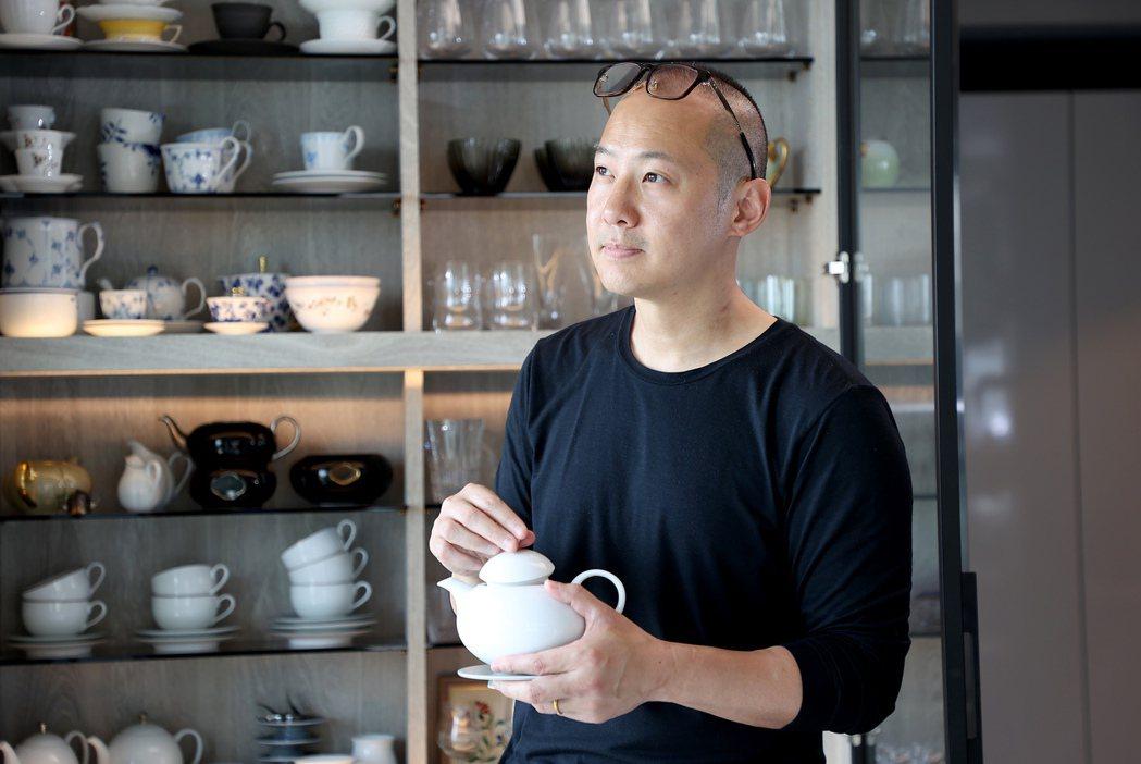 張聰打造食器,希望彰顯中菜之美。圖/Joey Yu 攝影