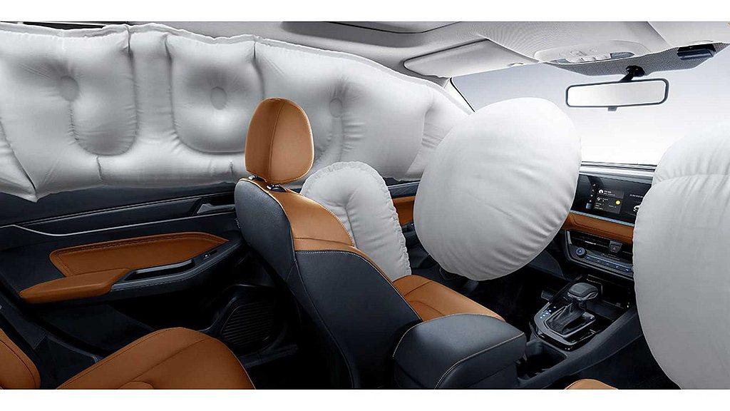 大改款Ford Escort將會導入6具防護氣囊來提供更高的保障,動力則會維持1...