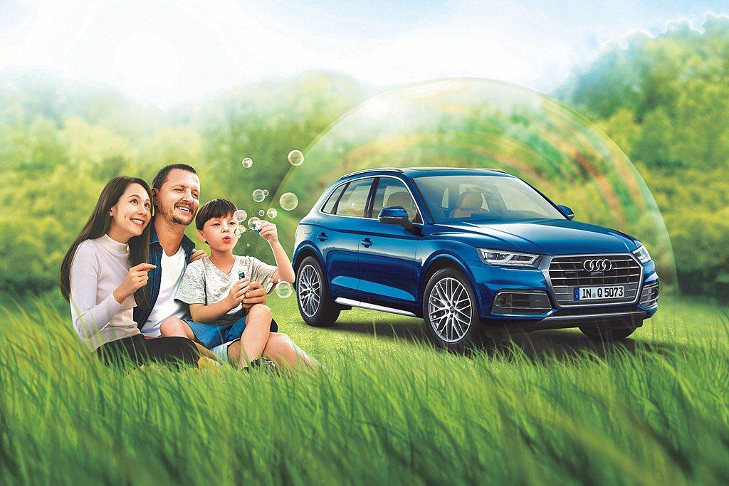 台灣奧迪即日起推出「Audi 2021春遊・安心新淨界」健檢活動。 圖/Audi...