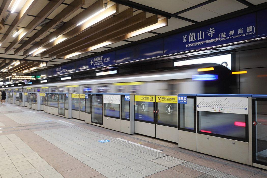 近捷運板南線龍山寺站,市心熱點隨心所至。 圖/中正城閱提供