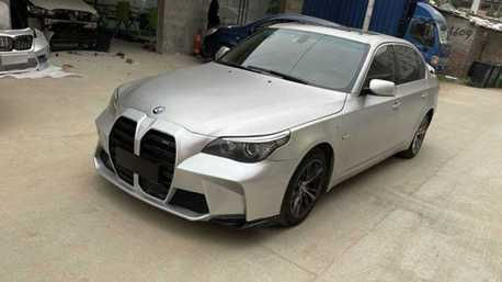 BMW E60看著有點膩了?對岸幫你改成大鼻孔M3或是M2 Competition