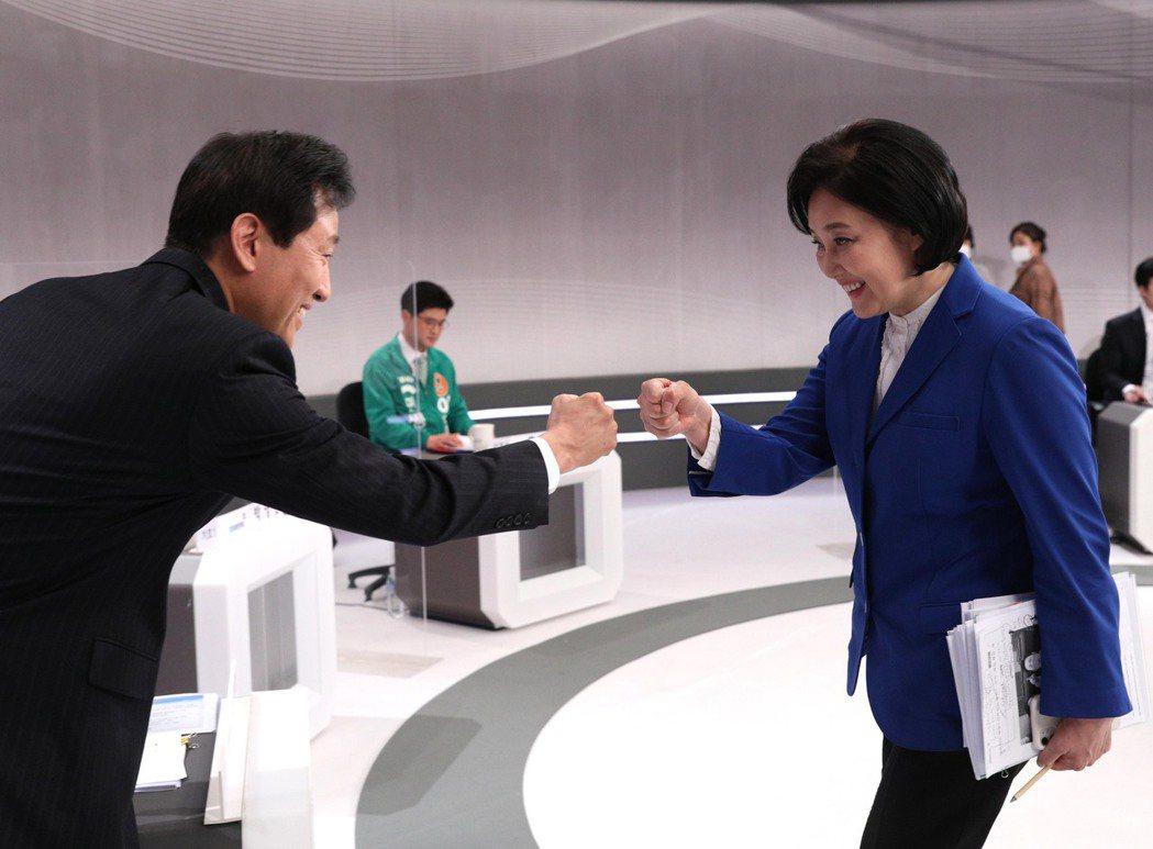 「如何保護女性?」成為了首爾市長補選中的熱門話題,但除了彼此辯論攻擊之外,保守派...