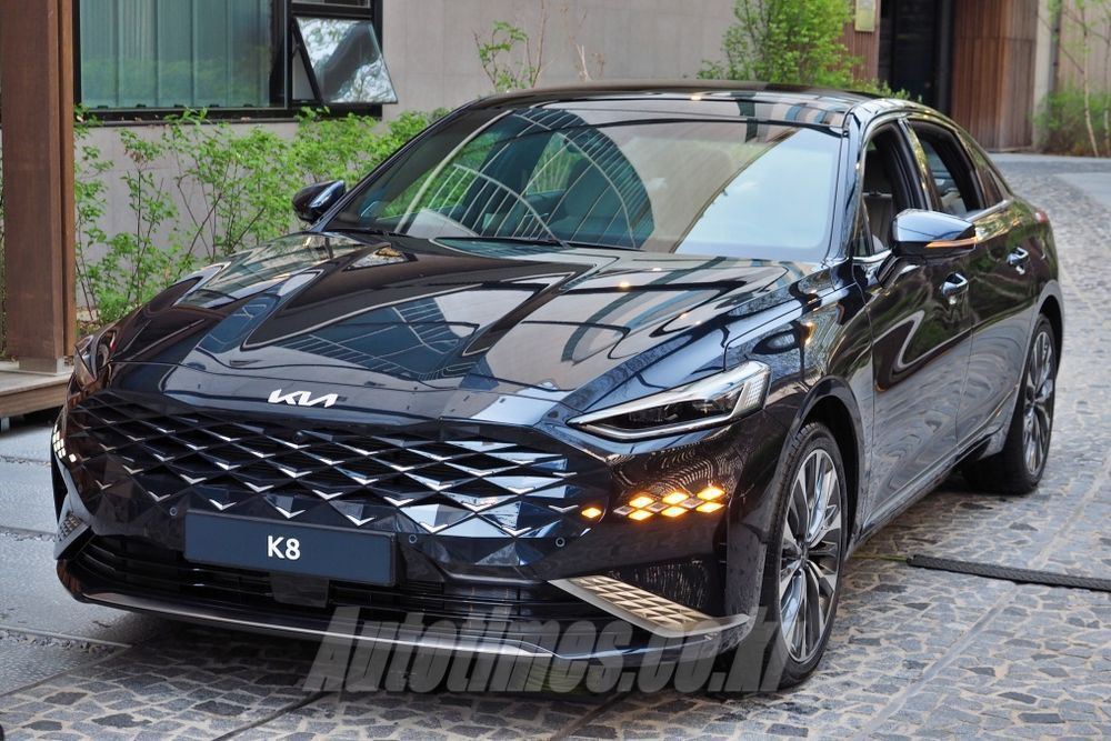 Kia K8。 摘自Autotimes.co.kr