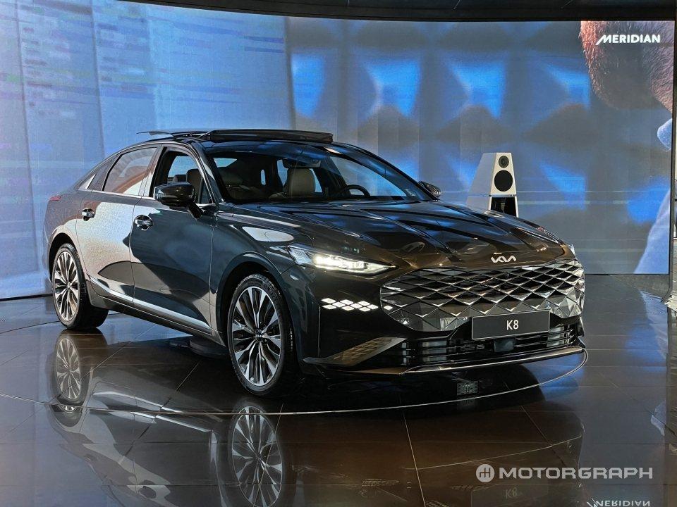 Kia K8今起(8)在韓國市場正式發表與上市。 摘自Motorgraph