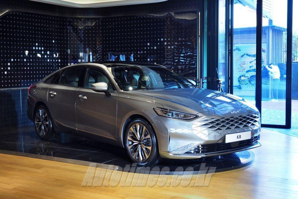 Kia K8將在韓國京畿道華城工廠進行量產作業。 摘自Autotimes.co....