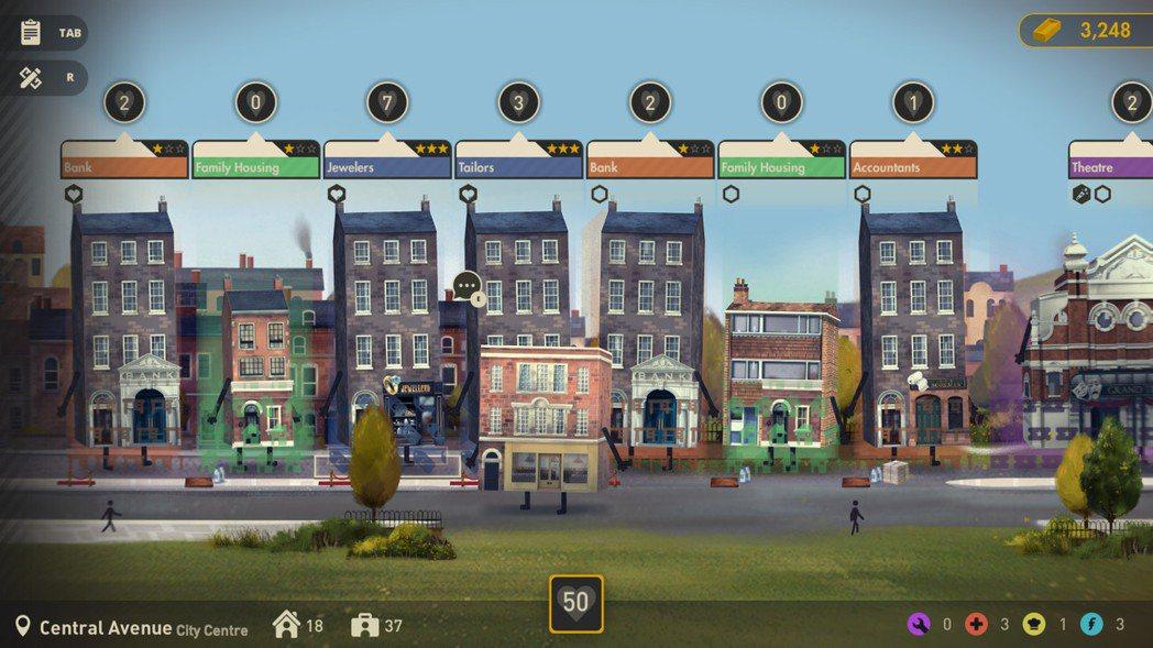 遊戲擁有多樣化建築物,從維多利亞時代到現代社會...應有盡有