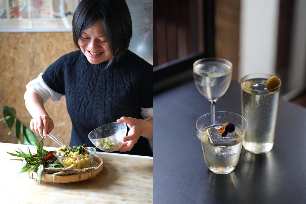 參與品牌有(左起)越式料理Petit été、台南酒吧Moonrock。 圖/陳...