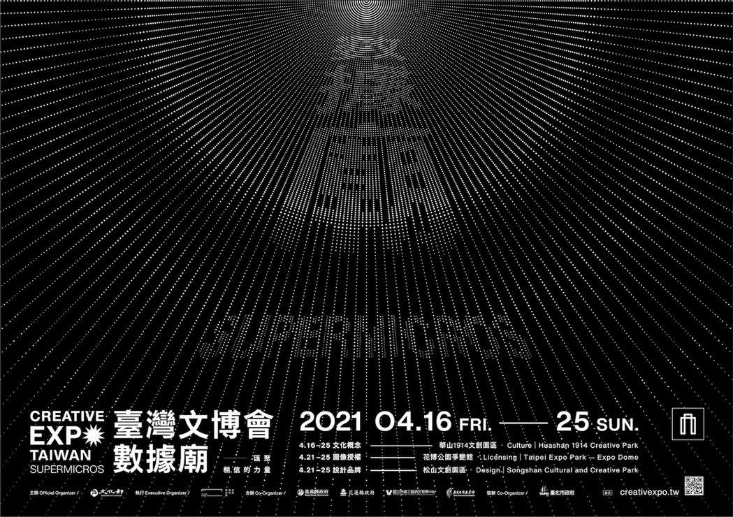 2021台灣文博會將於4月16日至25日於台北三大展區登場。 圖/台灣文博會提供