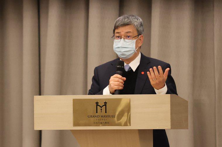 前副總統陳建仁。記者葉信菉攝影/報系資料照