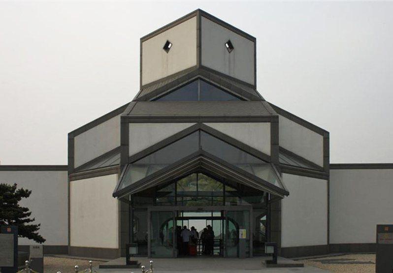 蘇州博物館大廳 圖片:維基百科