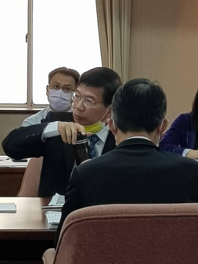 交通部次長王國材表示,林佳龍做得很好,也非常認真,他希望林繼續留下來帶領交通部。。記者彭宣雅/攝影