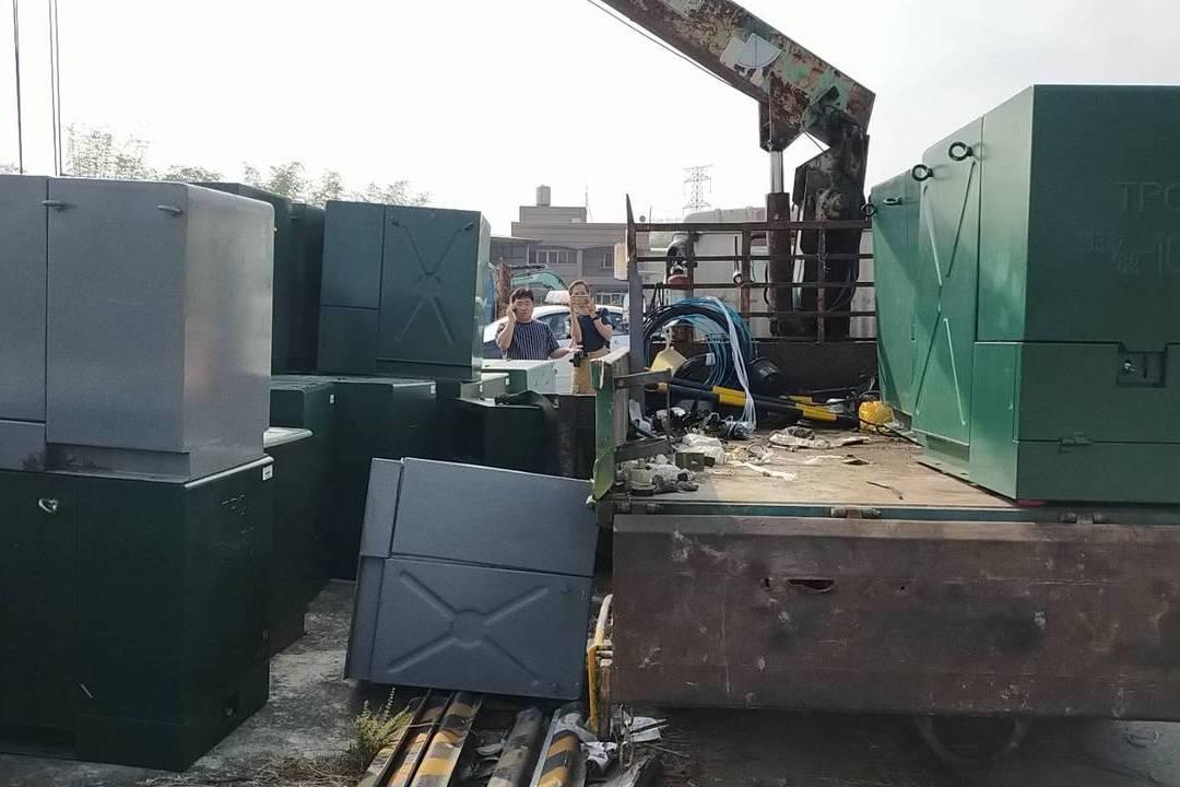 台電施工意外 包商工人遭400公斤電箱重壓不治