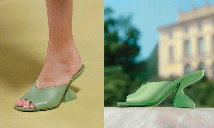 創意總監Paul Andrew今年春夏再度打造了全新的「F形鞋跟」鞋,這次有別於...