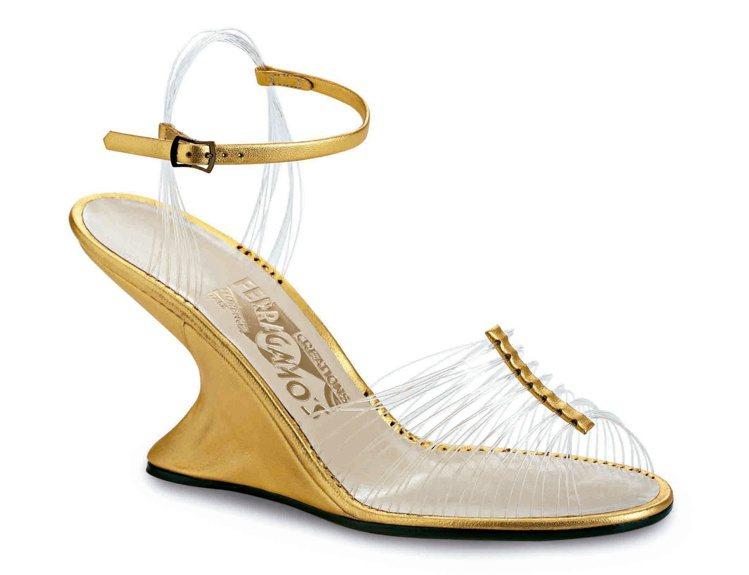 第一雙「F形鞋跟」鞋還在1947年為品牌獲得了時尚界的奧斯卡「雷門馬可斯獎」,可...