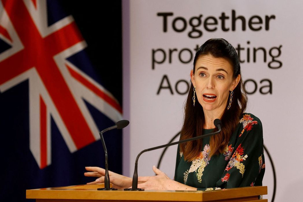 紐西蘭總理阿爾登(Jacinda Ardern)。法新社