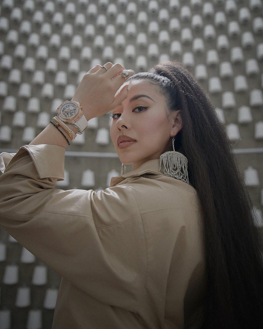 蔡詩芸闊別5年,推出全新專輯「SKY」。圖/瑩音樂提供