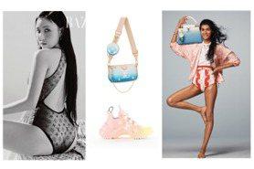「高衩妖精」華莎搶先穿的LV夏日系列上市 新款三合一手袋開搶