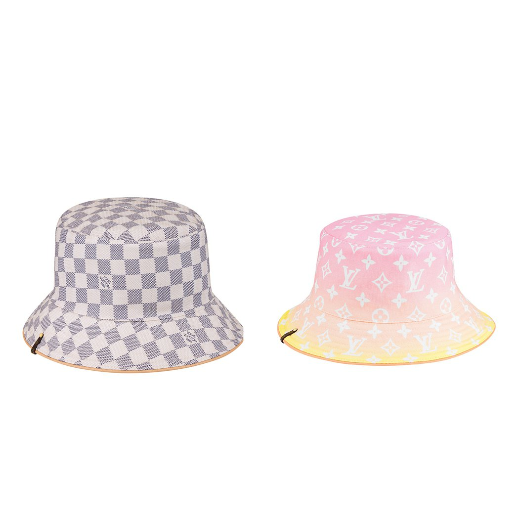 漁夫帽,各24,100元。圖/LV提供