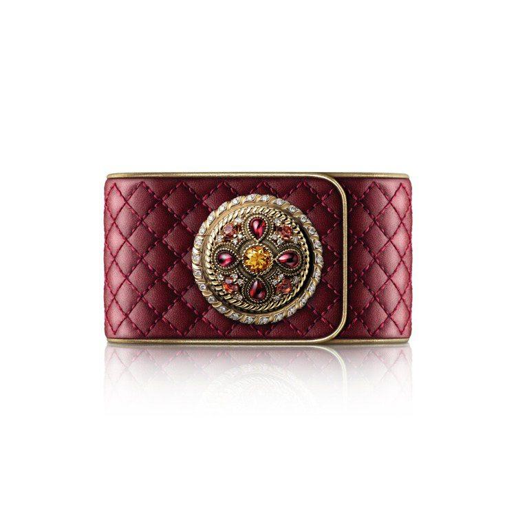 Mademoiselle Privé鈕扣腕表拜占庭裝飾鈕扣,677萬6,000...