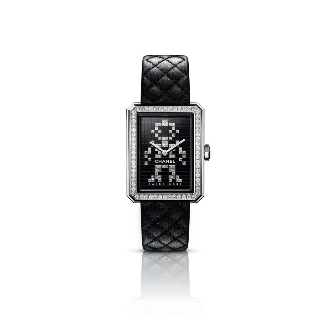 Boy∙Friend Electro 34.6毫米精鋼鑲鑽腕表,價格未定,限量發...